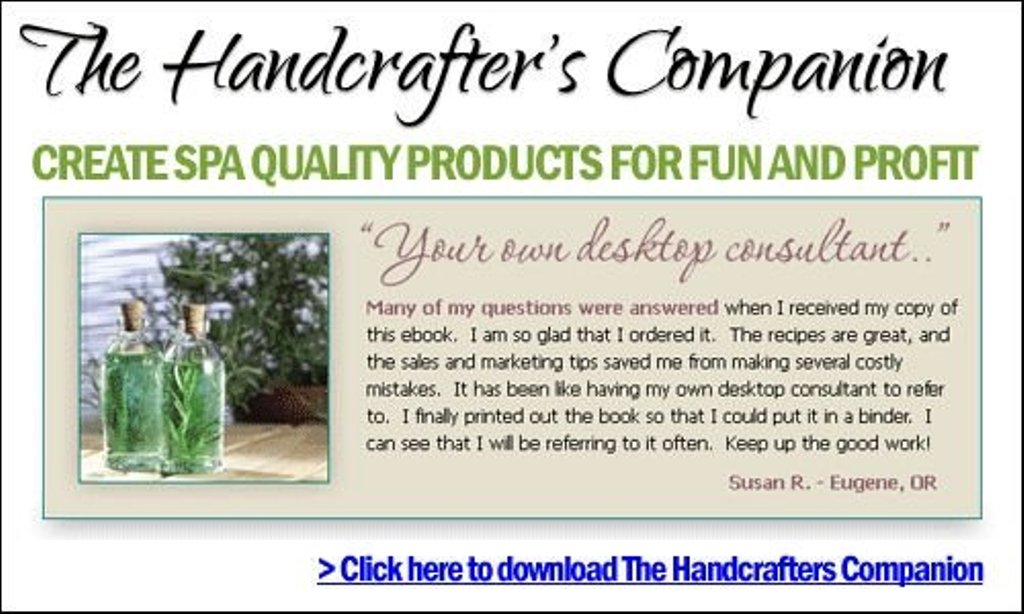 testimony Create Soothing Creams, Bath Bombs and Spa Products Like Professionals Using Handcrafter's Companion
