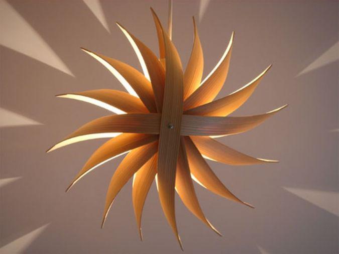 thin-wood-pandant-lamp 23 Most Creative Handmade Gift Ideas