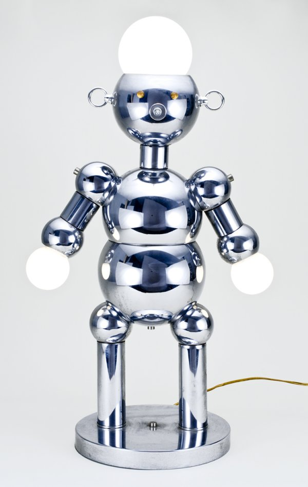 three-lamps 35 Amazing Robo Lamps for Your Children's Room