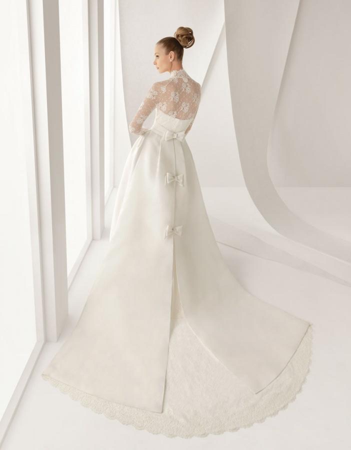 vestido_de_novia_rosa_clara_211-Adorno-Back 70 Breathtaking Wedding Dresses to Look like a real princess