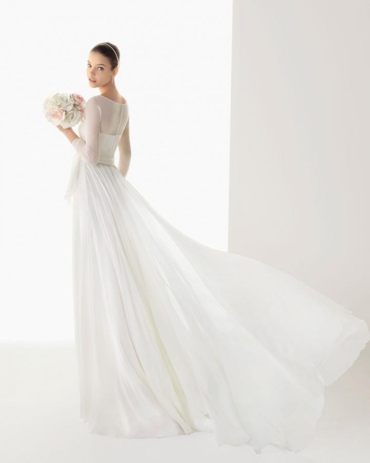 vestido_de_novia_rosa_clara_238 70 Breathtaking Wedding Dresses to Look like a real princess