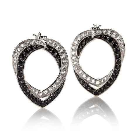victoria-wieck-274ct-black-spinel-and-topaz-earrings-d-2013041017181617241130-475x475 How To Use Earrings With Straight Hair, Tied or with Veil