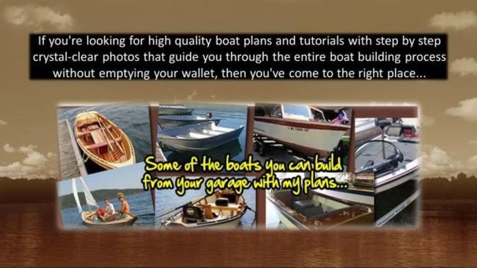 video-tutorials Step-By-Step Boat Plans for Building Your Own Boat