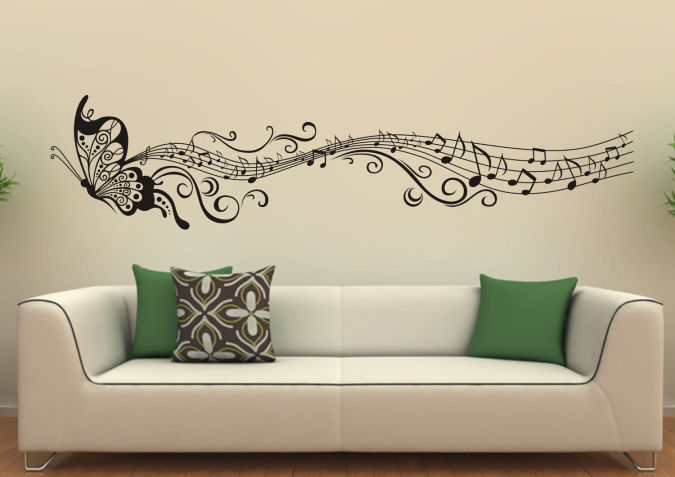 vinyl-wall-decor-sticker-home-decor Amazing and Catchy Wall Stickers for Home Decoration