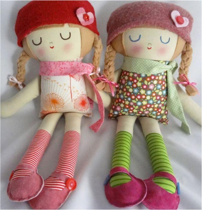 warm_sugar_handmade_dolls3 23 Most Creative Handmade Gift Ideas