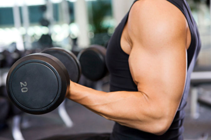 weight-lifting How to Lose Arm Fat