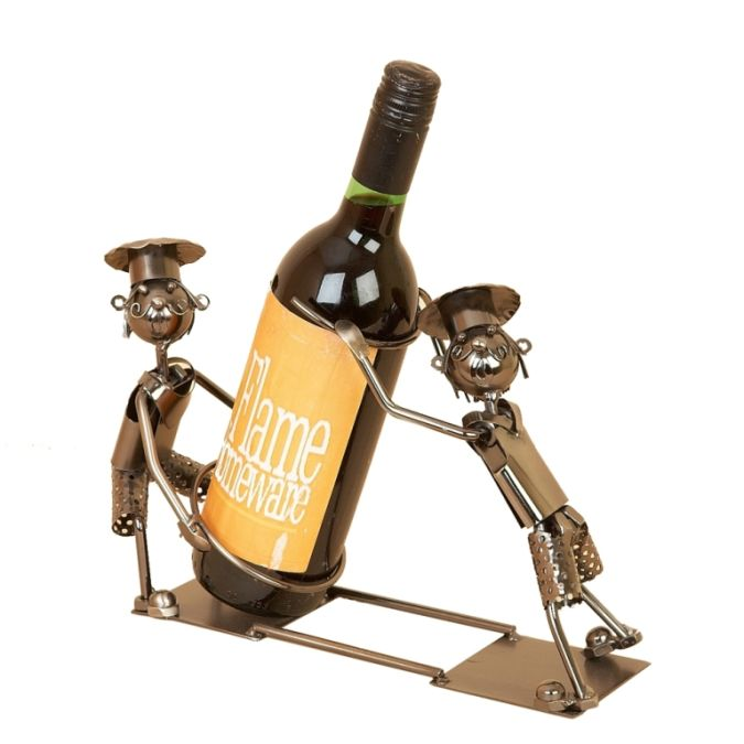 wine-bottle-holders-two-chefs 20 Most Unique and Uncommon Gift Ideas for Everyone