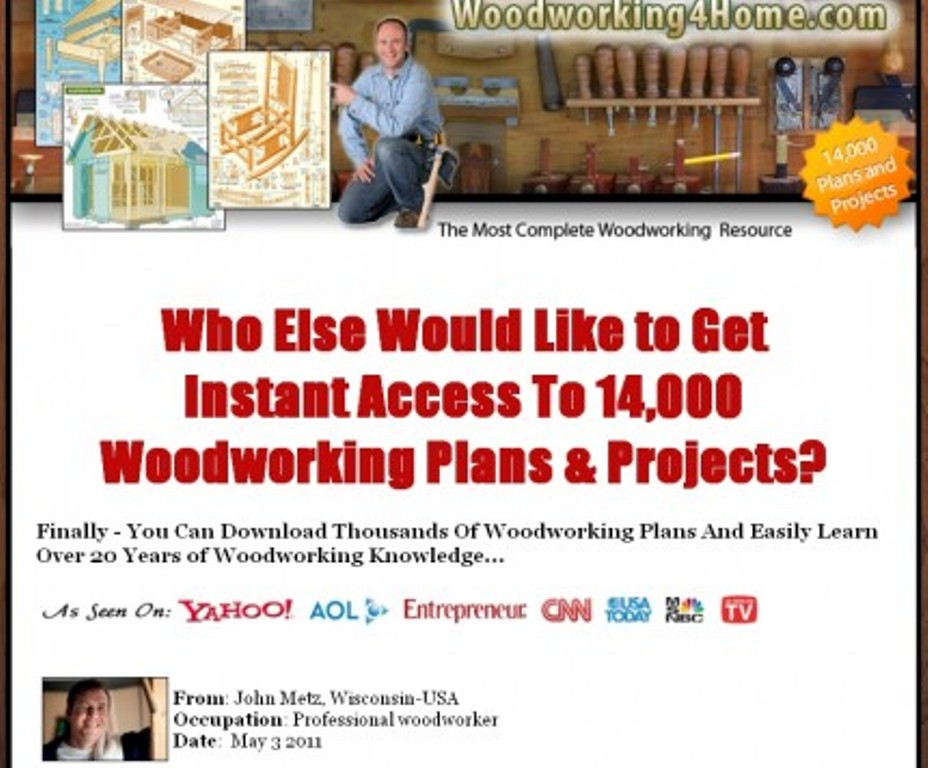 woodworking4home Get Access to 14,000 Woodworking Plans & Projects