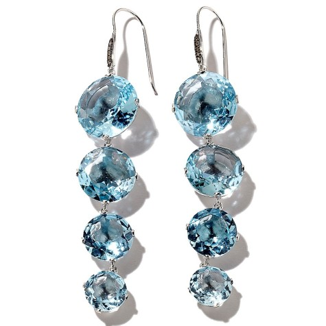 z-yours-by-loren-blue-topaz-and-brown-diamond-earrings-d-20120425182801257177796-475x475 How To Use Earrings With Straight Hair, Tied or with Veil