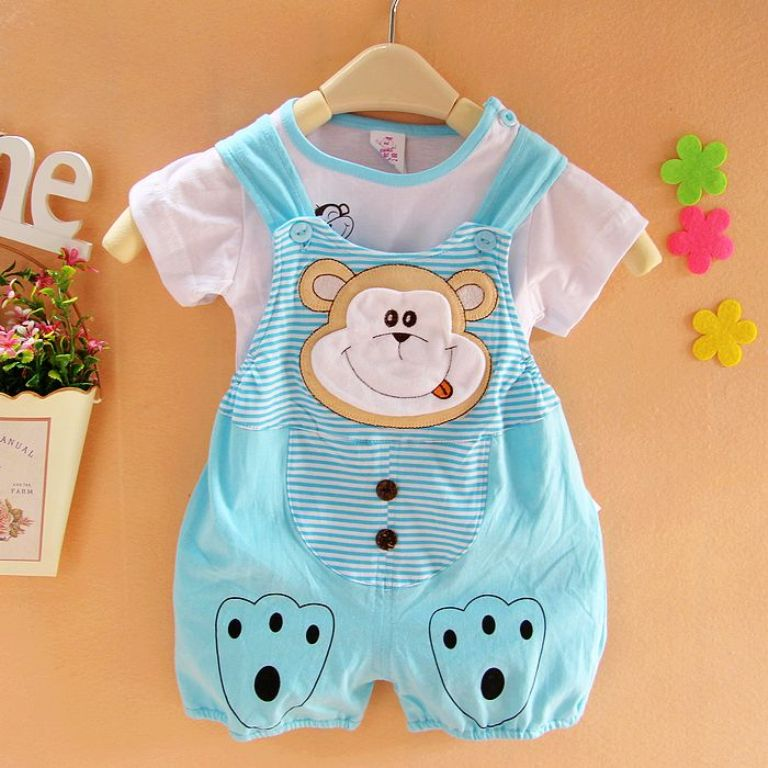 0-2-summer-newborn-clothes-100-infant-cotton-twinset Top 15 Cutest Baby Clothes for Summer