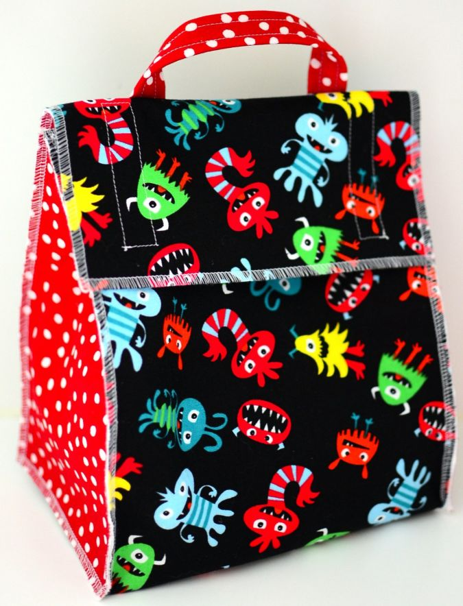 085 Pick A Lunch Bag For Your Kid