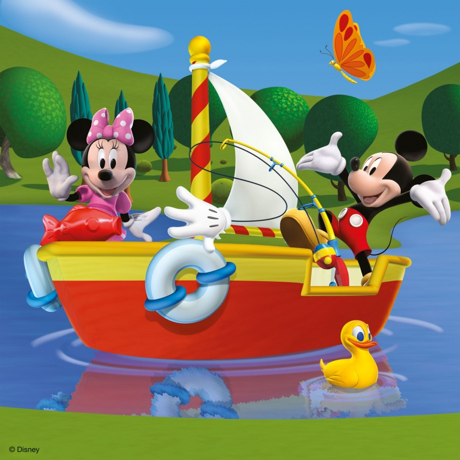 09247_mickey_mouse_clubhouse_3_in_a_box_jigsaw_2_1 Mickey Mouse Popular Cartoon Character