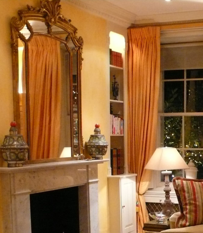 2-gold-mirror-before-picture2 Make a Big Difference In Your Home By Adding Mirrors
