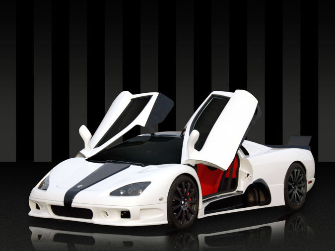 2009-ssc-ultimate-aero-doors-open Top 10 Fastest Cars in the World