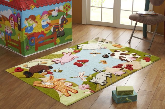 200SEKD30A Kids' Rugs Are Not Just For Decoration, But An Educational Method