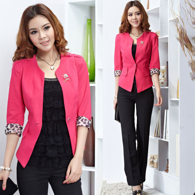 2012-summer-work-wear-professional-set-formal-fashion-women-s-work-wear-set-taoku Most Popular Formal Clothes For Women