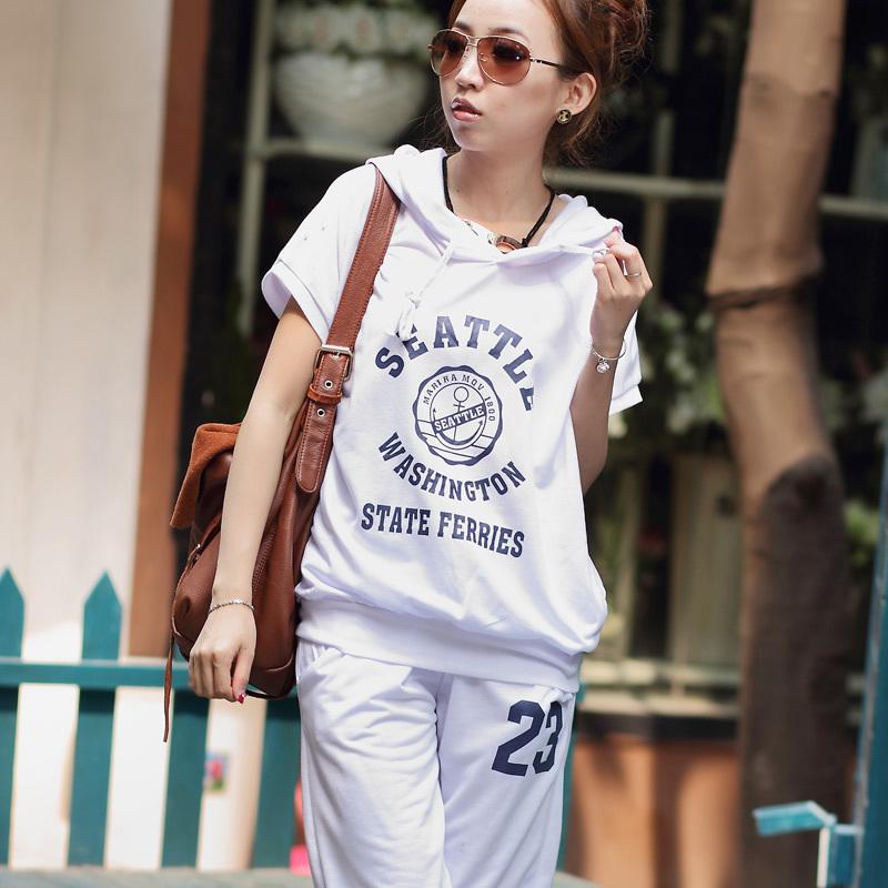 2012-women-s-font-b-summer-b-font-font-b-Sweat-b-font-shirt-Sports-Set Collection Of Sportswear For Women, Feel The Sporty Look
