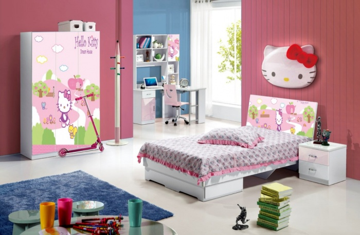 2013-Modern-Blue-Color-E1-Standard-Children-Furniture Fascinating and Stunning Designs for Children's Bedroom