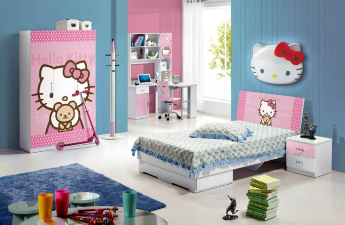2013-Modern-Blue-Color-E1-Standard Fascinating and Stunning Designs for Children's Bedroom