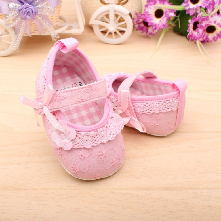 2013-Summer-New-Non-slip-Newborn-Baby-Toddler-Shoes-Pink-Color-Cotton-Infant-Girls-Best-Shoes TOP 10 Stylish Baby Girls Shoes Fashion