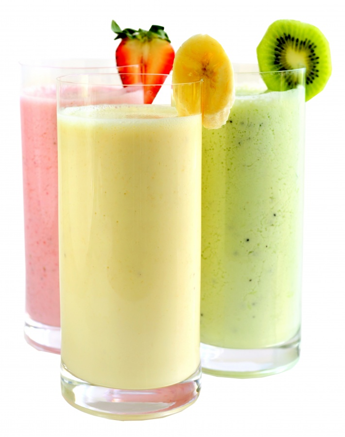 5-18-12smoothietrio Smoothie Drink Is Very Healthy And Delicious With Low Calories