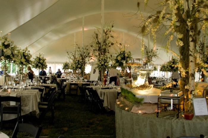 60x130-goldman-0906 Dazzling and Stunning Outdoor Wedding Decorations