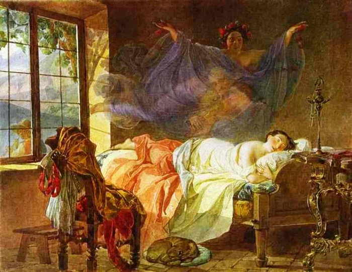 A-Dream-of-a-Girl-Before-a-Sunrise-1830-1833-xx-Pushkin-Museum-of-Fine-Arts 20 Paintings Of Fine Art