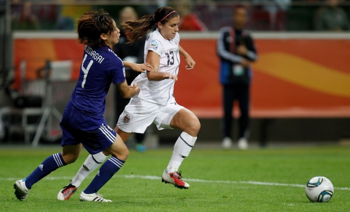 Alex+Morgan+Japan+v+USA+FIFA+Women+World+Cup FIFA Women's World Cup