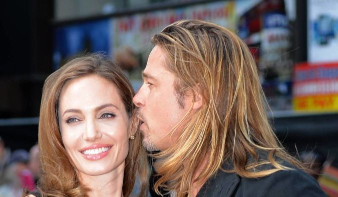 Angelina+Jolie+and+Brad+Pitt Angelina Jolie Catches the Eyes of Her Lovers and Cameras after Her First Appearance Since Mastectomy