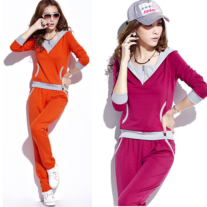 Autumn-sports-set-female-with-a-hood-sportswear-female-plus-size-sportswear-set-female-sportswear-font Collection Of Sportswear For Women, Feel The Sporty Look