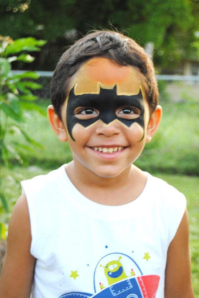 BATMAN Latest Make Up Art For Kids