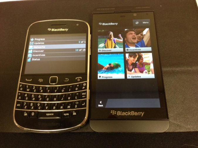 BB10vBB7 Blackberry 10 With Features And Applications