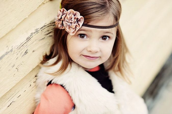 Baby-Headband-Toddler-Girls Babies' Charming Hairstyles