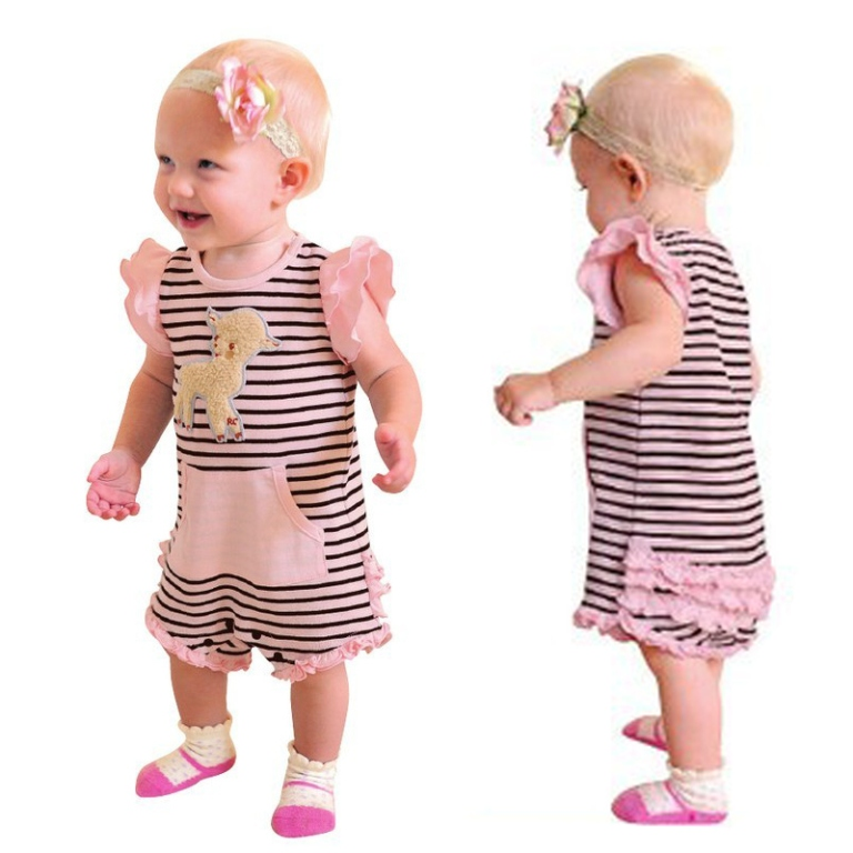 Baby-clothes-stripe-summer-sleeveless-bodysuit-2013 Top 15 Cutest Baby Clothes for Summer