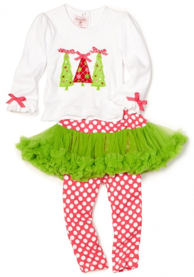 Baby-girls-Infant-Triple-Tree-2-Piece-Set 30 Cutest Baby Girl Pants
