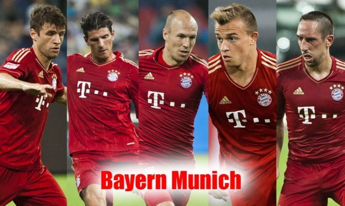 Bayern-München. Top 10 Football Teams in the World