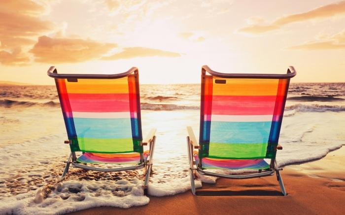 Beach-Chairs-Sea-Wave How To Choose A Beach Chair ?!
