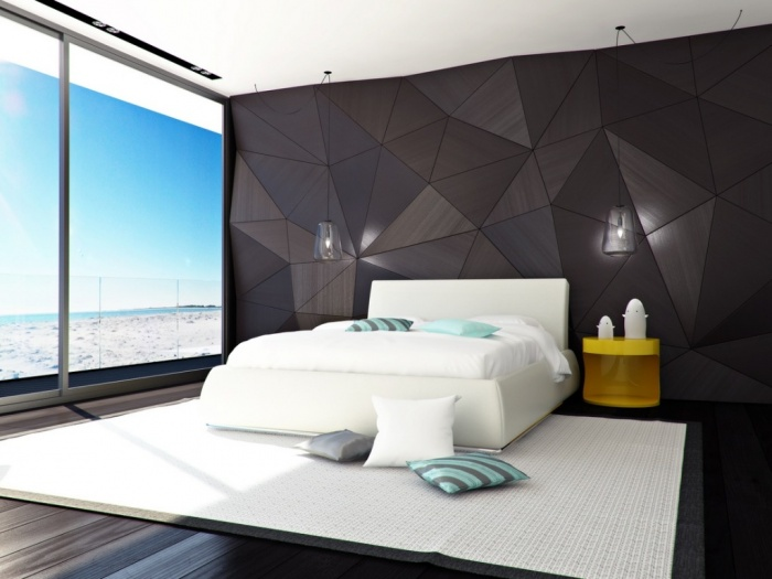 Beach-View-and-Cozy-White-Bed Fabulous and Breathtaking Bedroom Designs