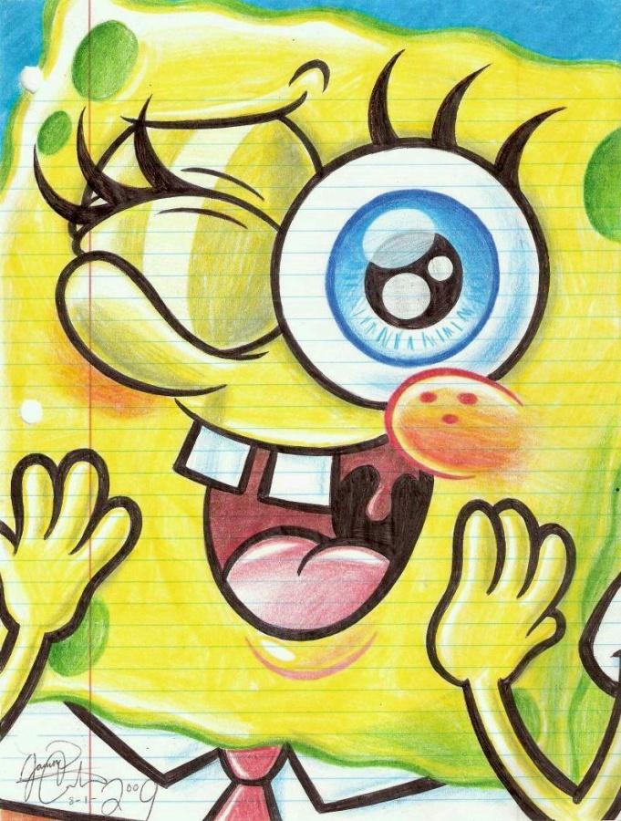 Blushing-SpongeBob-spongebob-squarepants-11588286-794-1049 SpongeBop SquarePants Animation