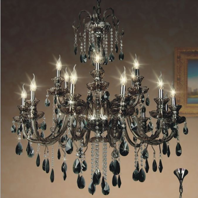 Brown-Crystal-chandeliers-free-shipping Choosing The Perfect Chandelier