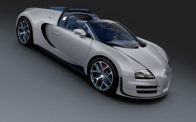 Bugatti-Veyron-Grand-Sport-Vitesse-Rafale-top-down Top 10 Fastest Cars in the World