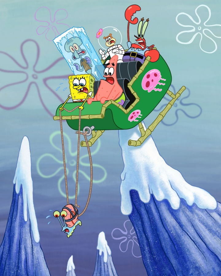 CD434-140 SpongeBop SquarePants Animation
