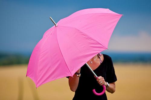 Carry-an-umbrella Umbrellas Became Popular Among Women, Men And Even Kids