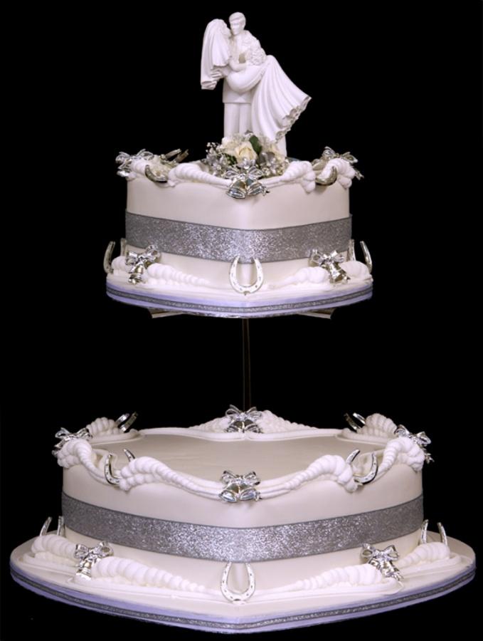 Celebrity-Wedding-Cakes 50 Mouthwatering and Wonderful Wedding Cakes