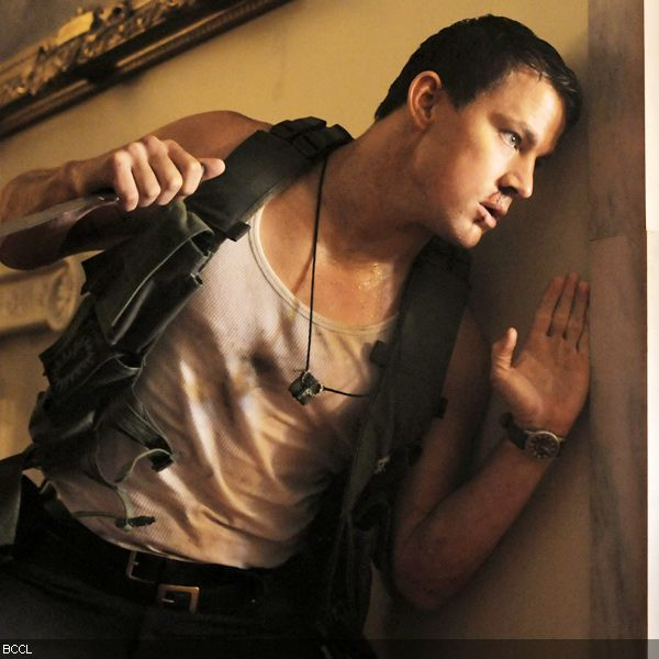 """Channing-Tatum-Hollywood-movie-White-House """"White House Down"""" Is An American Action Film"""