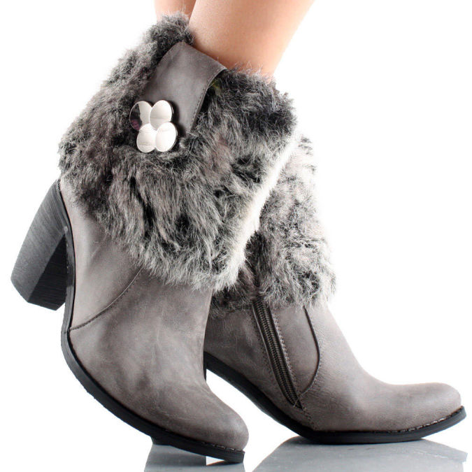 Charm-2-Gray-Womens-Designer Wearing High Heels Makes You Look Slimmer