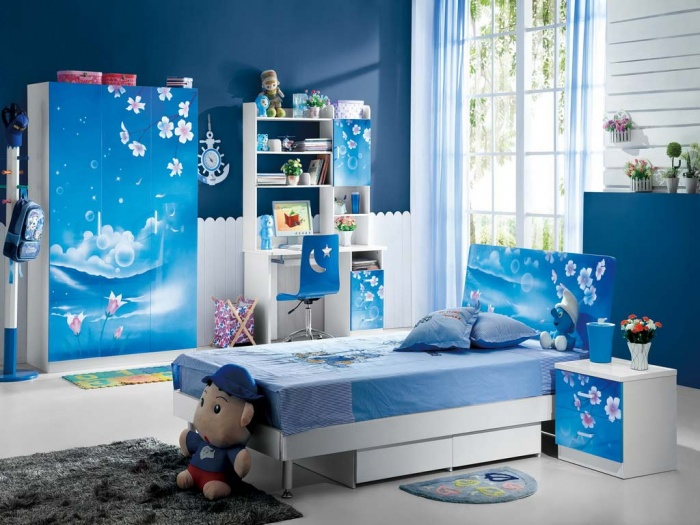 Children-room-with-amazing-Furniture Fascinating and Stunning Designs for Children's Bedroom