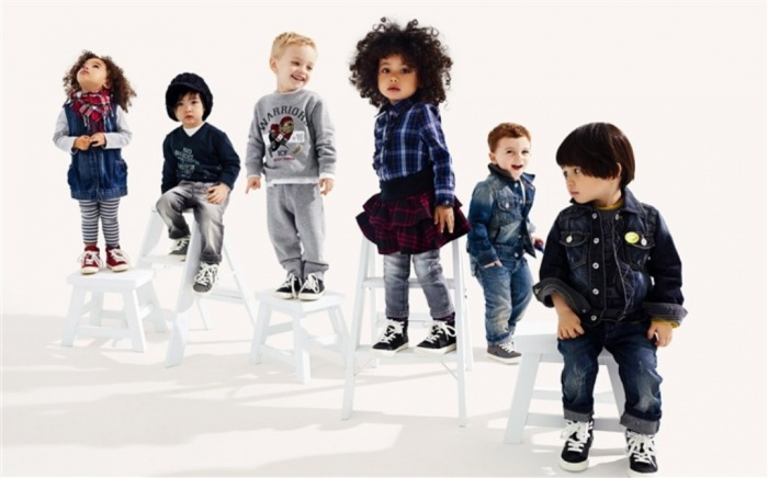 Colorful-Childrens-Fashion1 Most Stylish American Kids Clothing