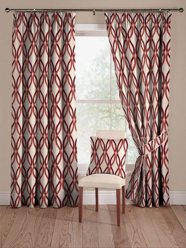 Colorful-Modern-Geometric-Curtains-Ideas Curtains Have Great Power In Changing The Look Of Your Home
