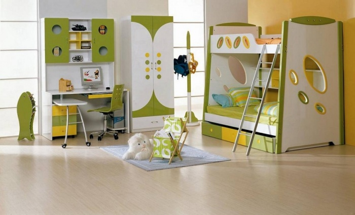 Cool-childrens-bedroom-furniture-sets Fascinating and Stunning Designs for Children's Bedroom